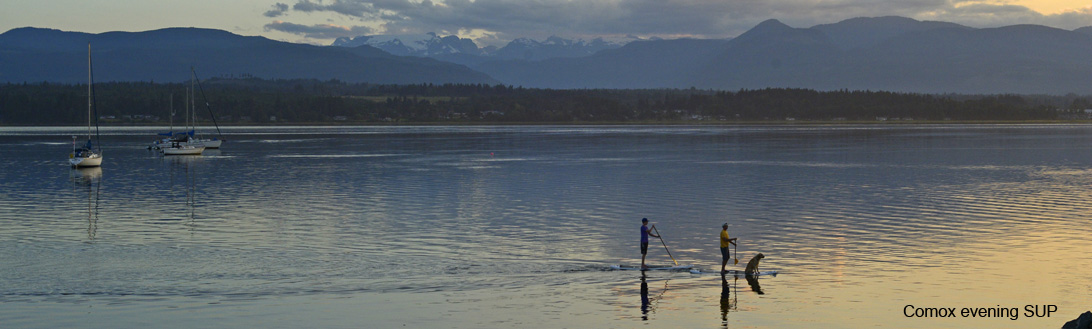 Comox SUP at Goose Spit